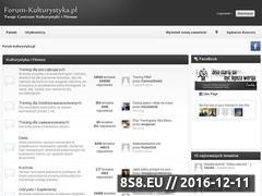 Miniaturka domeny forum-kulturystyka.pl
