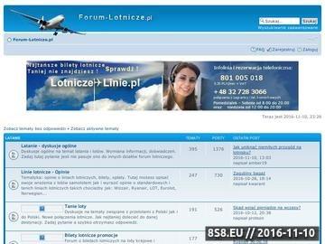 Zrzut strony Bilety lotnicze forum
