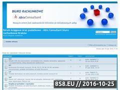 Miniaturka domeny forum.biurorachunkowe-krakow.pl