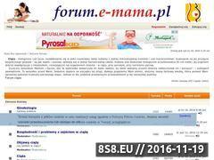 Miniaturka domeny www.forum.e-mama.pl