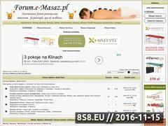 Miniaturka domeny forum.e-masaz.pl