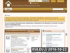 Miniaturka domeny forum.kredyty-mieszkaniowe.info