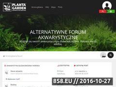 Miniaturka forum.plantagarden.pl (Forum akwarystyczne)
