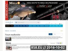 Miniaturka forum.wedkuje.pl (Forum i dyskusje o wędkarstwie)