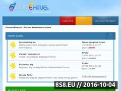 Miniaturka forumeking.eu (Forum Młodzieżowe)
