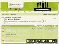 Miniaturka domeny forumix.pl