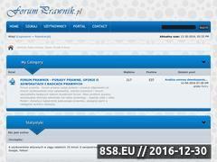 Miniaturka domeny forumprawnik.pl