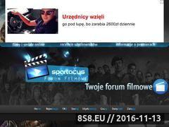Miniaturka forumspartacus.cba.pl (Forum filmowe)