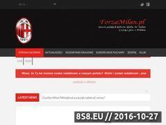 Miniaturka forzamilan.pl (Informacje i aktualności ze świata Milanu!)
