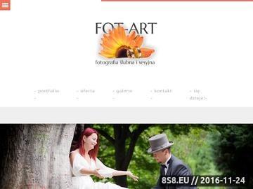 Zrzut strony Artystyczna fotografia ślubna