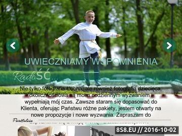 Zrzut strony Fotograf Piotrków
