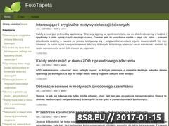Miniaturka domeny foto-tapeta.com