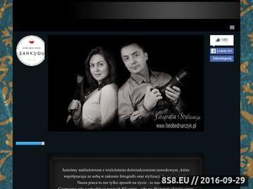 Zrzut strony Fotografia ślubna i stylizacja ślubna