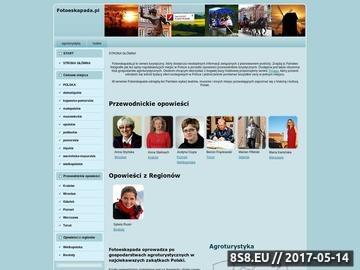 Zrzut strony Fotoeskapada - agroturystyka i ciekawe miejsca w Polsce