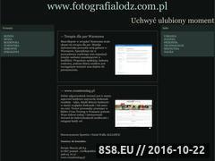 Miniaturka domeny www.fotografialodz.com.pl