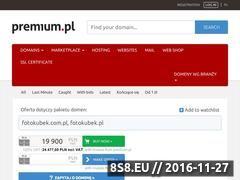 Miniaturka domeny www.fotokubek.pl