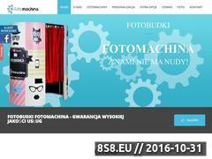 Miniaturka domeny fotomachina.pl