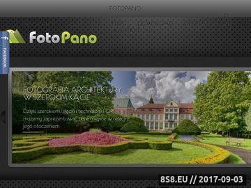 Zrzut strony Fotografia Panoramiczna 360 i Wirtualne Wycieczki
