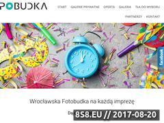Miniaturka fotopobudka.pl (Zdjęcia z fotobudki we Wrocławiu)