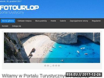 Zrzut strony Portal Turystyczny fotourlop.pl