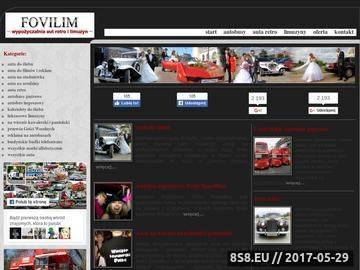 Zrzut strony Fotografia ślubna i videofilmowanie - Fovilim
