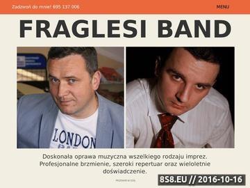 Zrzut strony Fraglesi Band - Zespół muzyczny na wesele dolny Śląsk, Wrocław, Legnica.