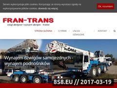 Miniaturka domeny www.fran-trans.com.pl
