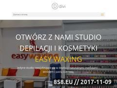 Miniaturka domeny franczyza.easywaxing.pl