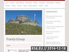 Miniaturka domeny www.frantagroup.pl