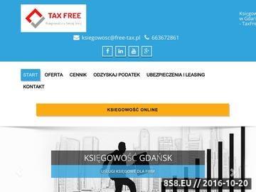 Zrzut strony Księgowość Gdańsk - biuro rachunkowe