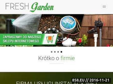 Zrzut strony Nawadnianie ogrodów, automatyczne systemy nawadniania, Zielona Góra, lubuskie
