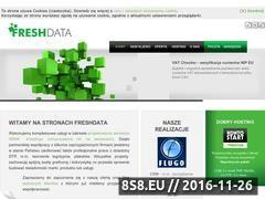 Miniaturka domeny www.freshdata.pl