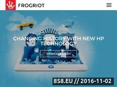 Miniaturka domeny frogriot.com