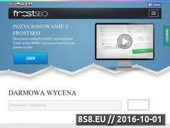 Miniaturka domeny www.frostseo.pl