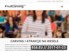 Miniaturka domeny www.fruitcarving.pl