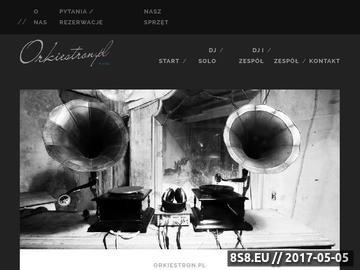 Zrzut strony Oprawa muzyczna imprez - Artyści Wyjątkowi !