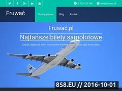 Miniaturka domeny www.fruwac.pl