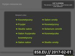 Miniaturka domeny fryzjer-rzeszow.eu