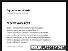 Miniaturka domeny fryzjeranna.com.pl