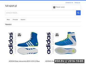 Zrzut strony Wszystkie sporty w jednym miejscu - FULL-SPORT.PL