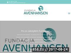 Miniaturka domeny fundacja-avenhansen.pl