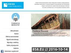 Miniaturka fundacjawarsztat.pl (Warsztaty, rękodzieło oraz wikliniarstwo)