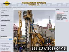 Miniaturka domeny www.fundament-specjal.pl