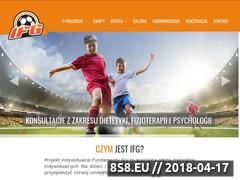 Miniaturka fundamentygry.pl (Indywidualne treningi piłkarskie dla dzieci)