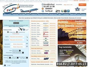 Zrzut strony Tanie Bilety Lotnicze do Australii