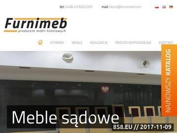 Zrzut strony Furnimeb-meble hotelowe
