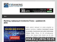 Miniaturka fxranking.pl (Ranking Brokerów Forex i Opcji Binarnych)