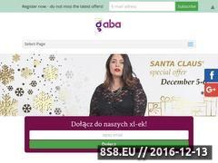 Miniaturka domeny www.gaba-fashion.pl