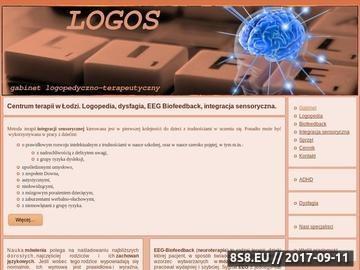 Zrzut strony Logopeda Łódź - Joanna Wojczyk