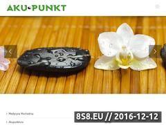 Miniaturka domeny www.gabinetakupunktury.pl
